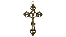 Imagem - Cruz de Metal Jesus Grande Mod.2 cód: 9.2233720368548E+185325194