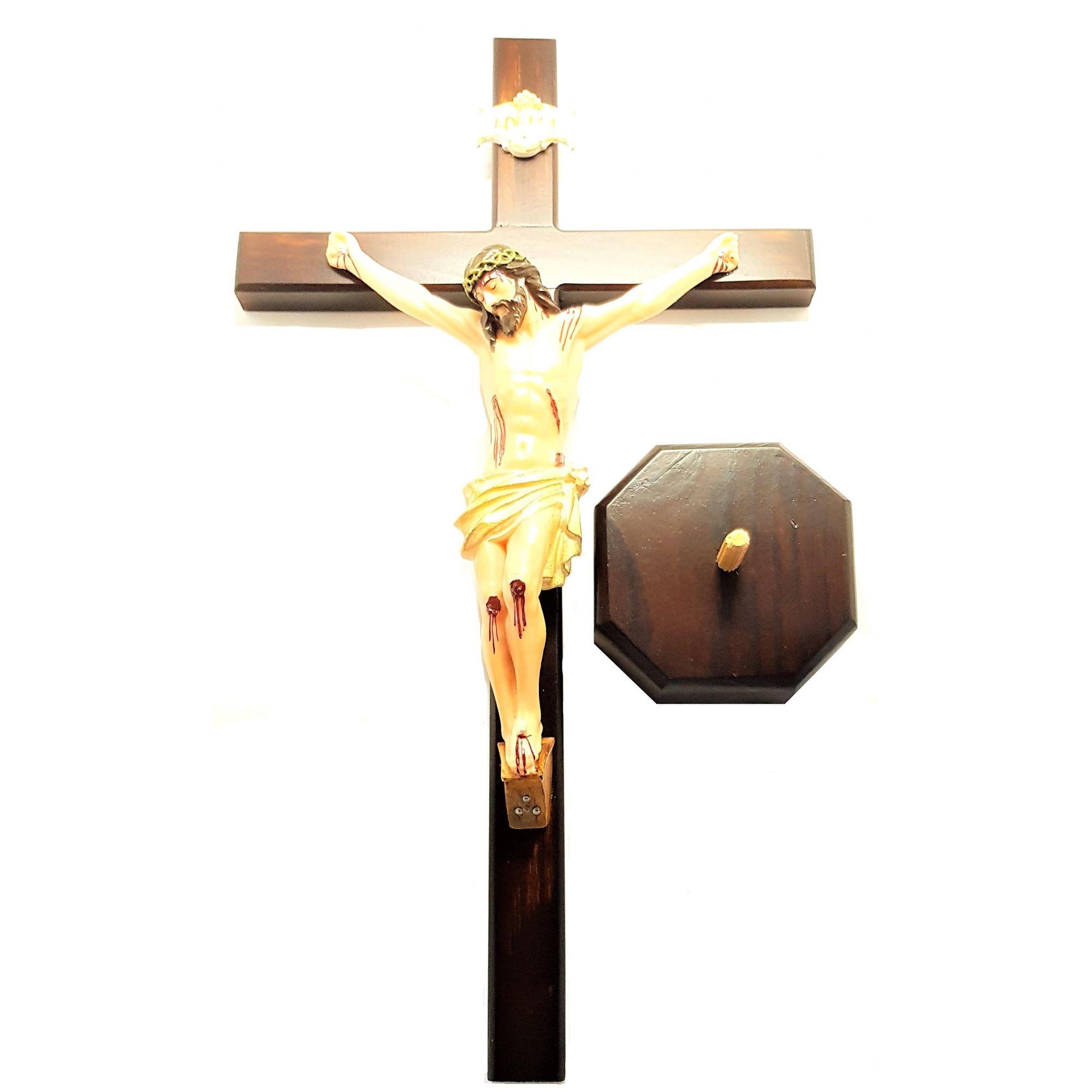 Imagem - Crucifixo de Mesa 50 cm cód: 3300
