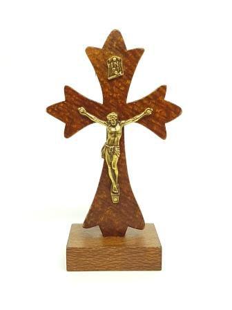Imagem - Crucifixo de Mesa Luxo 12 cm cód: 2627