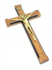 Imagem - Crucifixo de Parede São Bento Luxo 23 cm cód: 6800