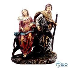 Imagem - Imagem de Resina Nossa Senhora do Desterro Grávida - 35 cm cód: 16742432
