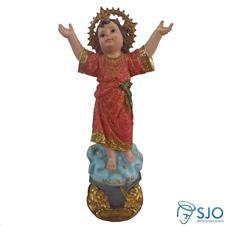 Imagem - Imagem de Resina Divino Menino Jesus - 20 cm cód: 11400748