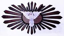 Imagem - Divino Espírito Santo Raio Duplo - 100 cm cód: 19008613
