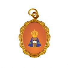 Imagem - Medalha de Alumínio Nossa Senhora Aparecida Infantil cód: MANSAID