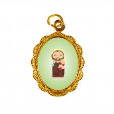 Imagem - Medalha de Alumínio São José Infantil cód: MASJID