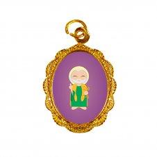 Imagem - Medalha de Alumínio São Pedro Infantil cód: MASPID