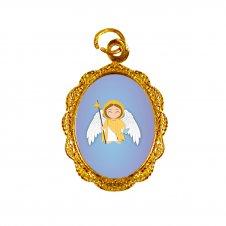 Imagem - Medalha de Alumínio São Rafael Infantil cód: MASRI2D