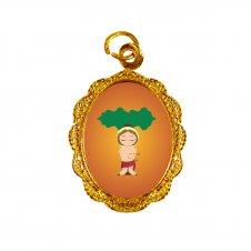 Imagem - Medalha de Alumínio São Sebastião Infantil cód: MASSID