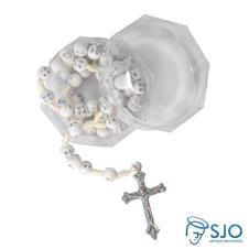 Imagem - Kit Terço de Strass no Cordão + Embalagem Italiana  cód: 15685531-7
