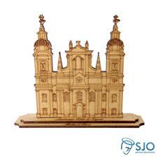 Imagem - Santuário de Nazaré em MDF - 14 cm cód: 12673592