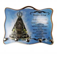 Imagem - Porta Chave - Nossa Senhora Aparecida 06 cód: 18366805