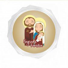 Imagem - Embalagem Italiana Média Sagrada Família Infantil cód: EIMSFI