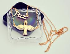 Imagem - Gargantilha Folheada a ouro, Paz - 14272358