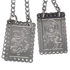 Imagem - Escapulário de Inox de São Jorge  cód: 16535330