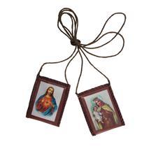 Imagem - Escapulário de Tecido com Santinho de Oração - 16166078
