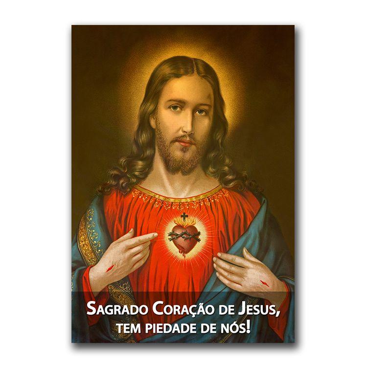 Imagem - Adesivo - Sagrado Coração de Jesus cód: 12573073