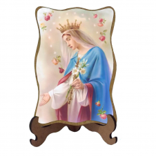 Imagem - Porta-Retrato Nossa Senhora do Rosário  cód: 19111070
