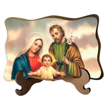 Imagem - Porta Retrato Sagrada Família - Modelo 7 cód: 17905663