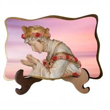 Imagem - Porta-Retrato Nossa Senhora da Salete - Modelo 2 cód: 13710100