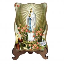 Imagem - Porta-Retrato Nossa Senhora de Lourdes - Modelo 2 - 13397415