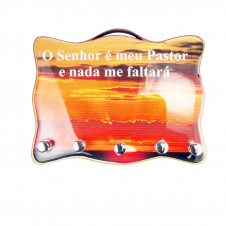 Imagem - Porta Chave - Salmo 23 cód: 12487990