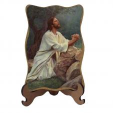 Imagem - Porta-Retrato Jesus Orando - Modelo 1 - 10454704