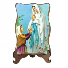 Imagem - Porta-Retrato Nossa Senhora de Lourdes - Modelo 1 cód: 14060729
