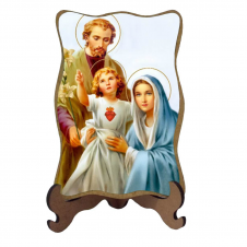 Imagem - Porta-Retrato Sagrada Família - Modelo 1 cód: 10773974