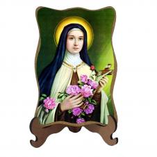 Imagem - Porta-Retrato Santa Terezinha - Modelo 2 cód: 16107694