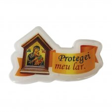 Imagem - Ímã da Proteção Capela - Protegei meu Lar cód: IMP-01-NSPS