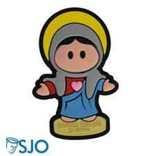 Imagem - Imã Emborrachado Sagrado Coração de Maria cód: 12900794