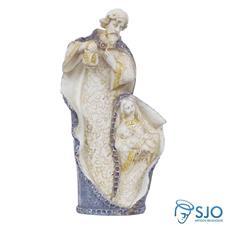 Imagem de Resina Sagrada Família - 18 cm