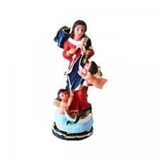 Imagem - Imagem de Resina Nossa Senhora Desatadora dos Nós - 12 cm cód: