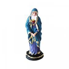 Imagem - Imagem de Resina Sagrado Coração de Maria - 15 cm cód: IGSCM-2