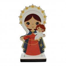 Imagem - Imagem de MDF Nossa Senhora do Rosário Infantil cód: IMDFNSRI