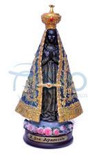 Imagem - Imagem de Resina Nossa Senhora Aparecida - 22 cm - 15478496