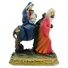 Imagem - Imagem de Resina Nossa Senhora do Desterro - 9 cm cód: NP2709B