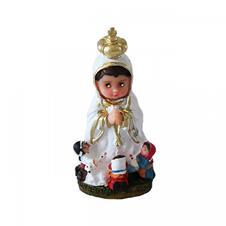 Imagem - Imagem Infantil Nossa Senhora de Fátima - 7 cm cód: IINSF