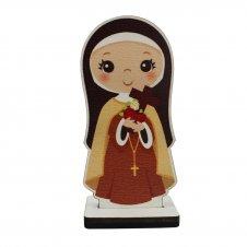 Imagem - Imagem de MDF Santa Teresinha Infantil cód: IMDF-SCI