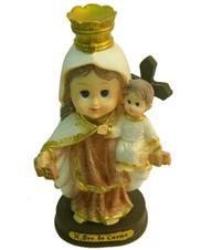 Imagem - Imagem Infantil Nossa Senhora do Carmo - 10 cm cód: 14141376