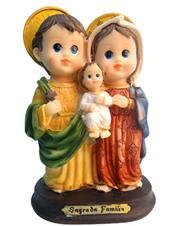 Imagem - Imagem Infantil Sagrada Família - 15 cm - 13988456