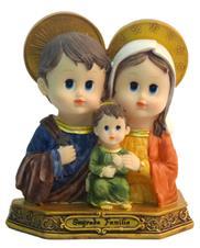 Imagem Infantil Sagrada Família - 10 cm