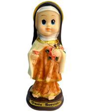 Imagem - Imagem Infantil de Santa Terezinha - 15 cm cód: 13124669