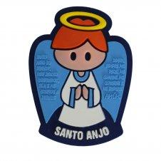 Imagem - Imã Emborrachado Santo Anjo cód: 14442339-1