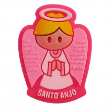 Imagem - Imã Emborrachado Santo Anjo cód: 14442339-4