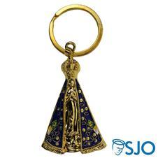 Imagem - Chaveiro Metal de Nossa Senhora Aparecida cód: 14770667