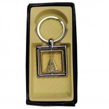 Imagem - Chaveiro Quadrado de Nossa Senhora Aparecida cód: 18537061