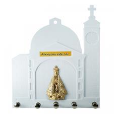 Porta Chave de Plástico - Nossa Senhora Aparecida