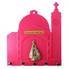 Imagem - Porta Chave de Plástico - Nossa Senhora Aparecida cód: PCPNSAR