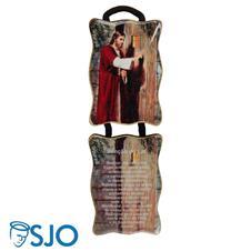 Imagem - Adorno de Porta Retangular - Bênção do Lar - 18325083